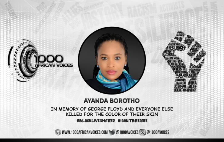 Ayanda Borotho Graphic